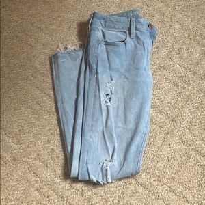 Lightly used American eagles jeans